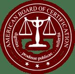 American Board of Certification badge